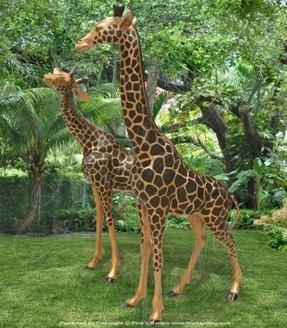 Tall Giraffe Statue Ideas On Foter