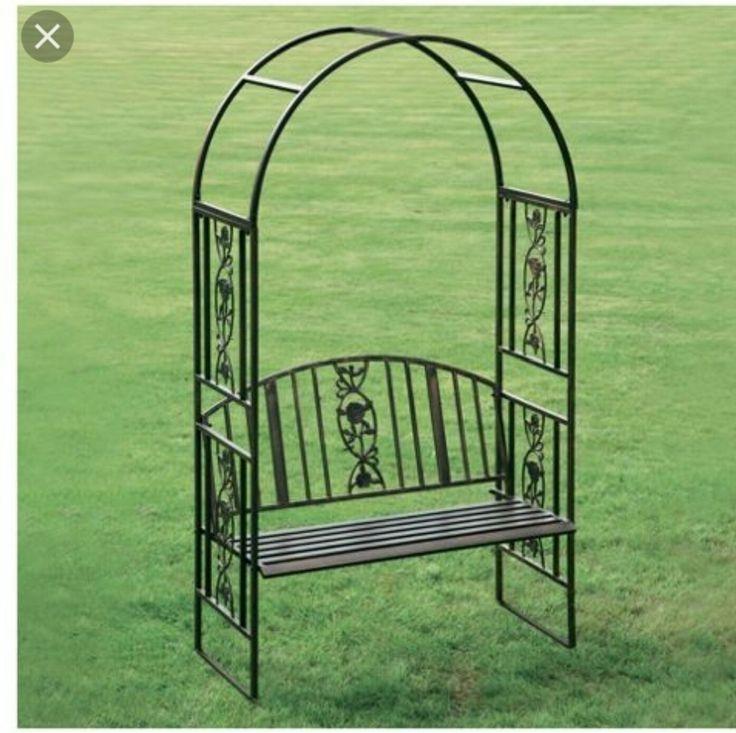 Metal Garden Benches 7