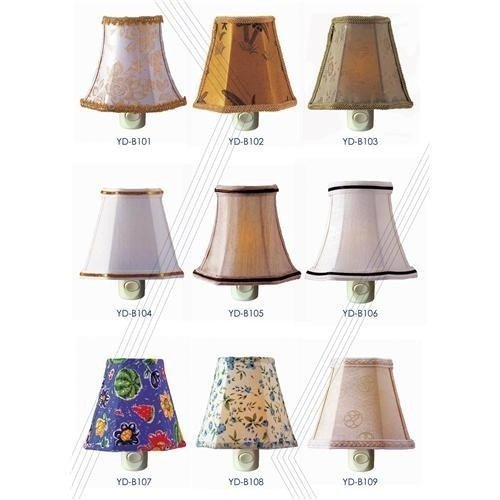 Sell night lamp night light wall lamp wall light fabric