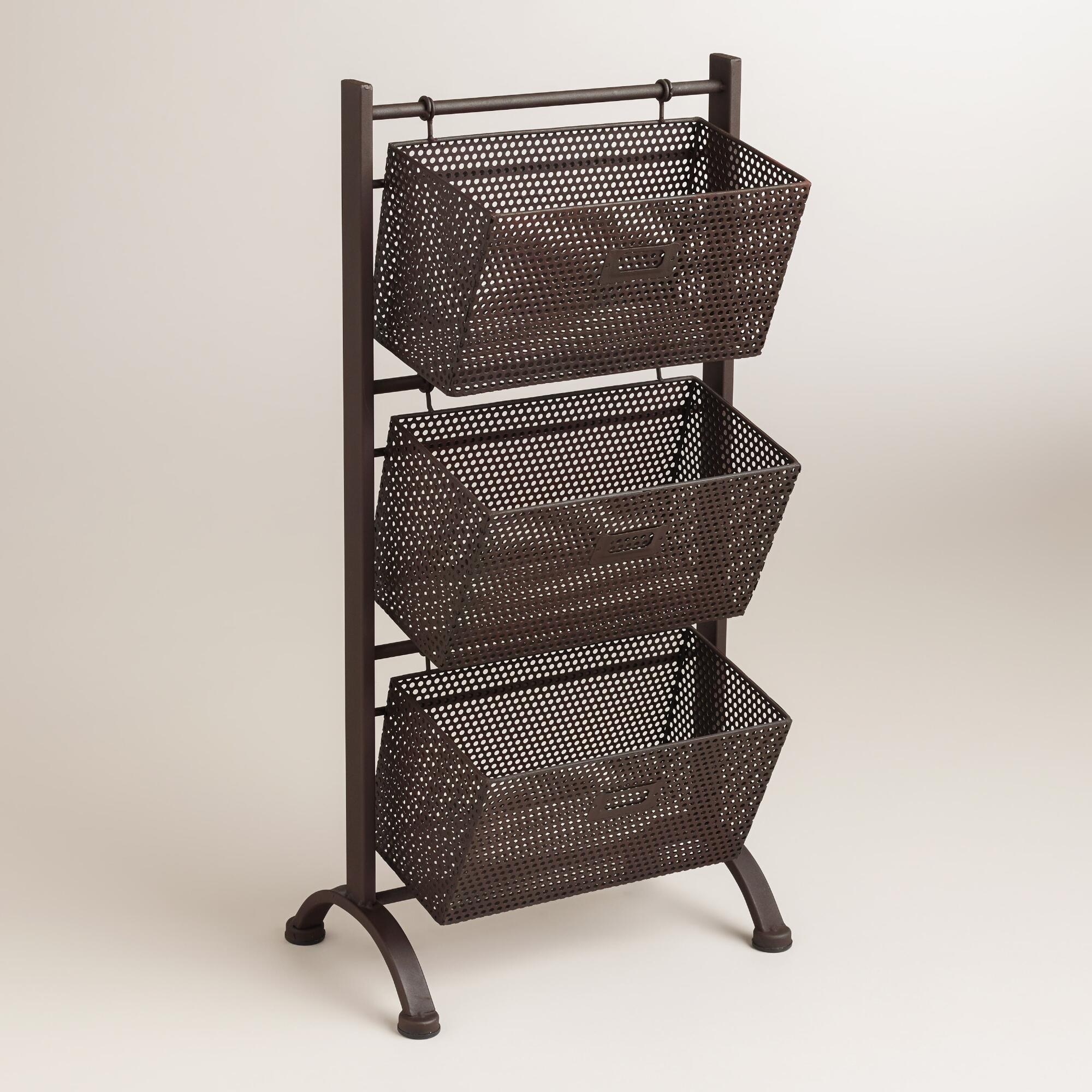 Delicieux Storage Tower With Baskets 1