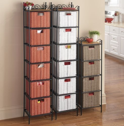 Storage Tower With Baskets 4
