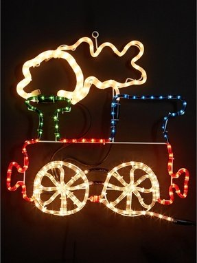 Outdoor Christmas Train Decoration - Foter