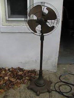 Retro Pedestal Fan Foter