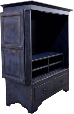 Entertainment Armoire With Doors - Foter