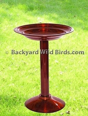 Bird bath dark copper 0 review s review this item