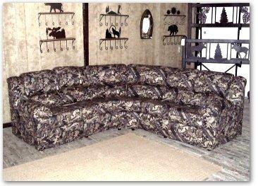 Merveilleux Camo Sectional Sofa
