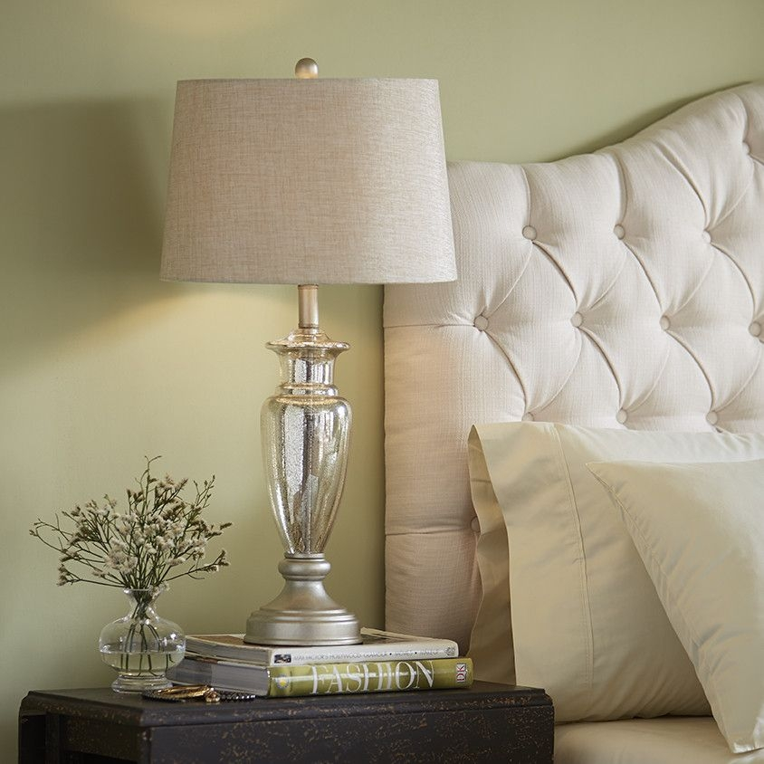 Carroll Mercury Glass Table Lamp (Set Of 2)