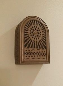 Details About Door Bell Chime Cover Antique Finish Art Deco