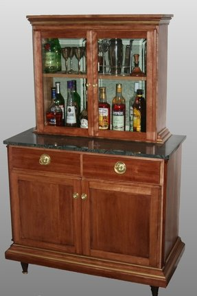 Empire Style Liquor Cabinet Note Company Policy Says The Client