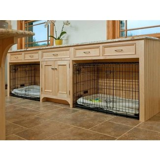 How To Make Dog Crate Furniture