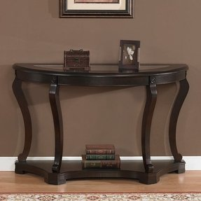 Half Round Sofa Table Foter