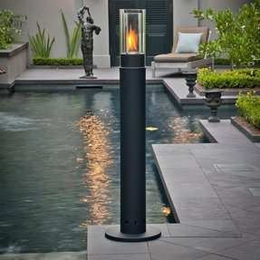 Outdoor fire lamps 1