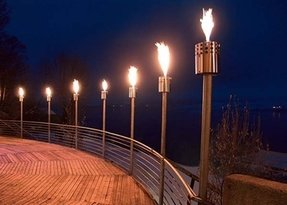 Outdoor fire lamps 3