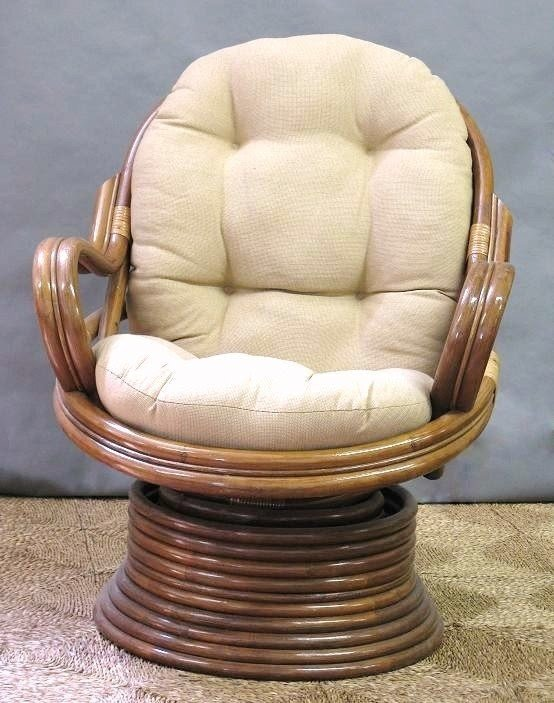 Beau Papasan Swivel Rocker Chair Cushion