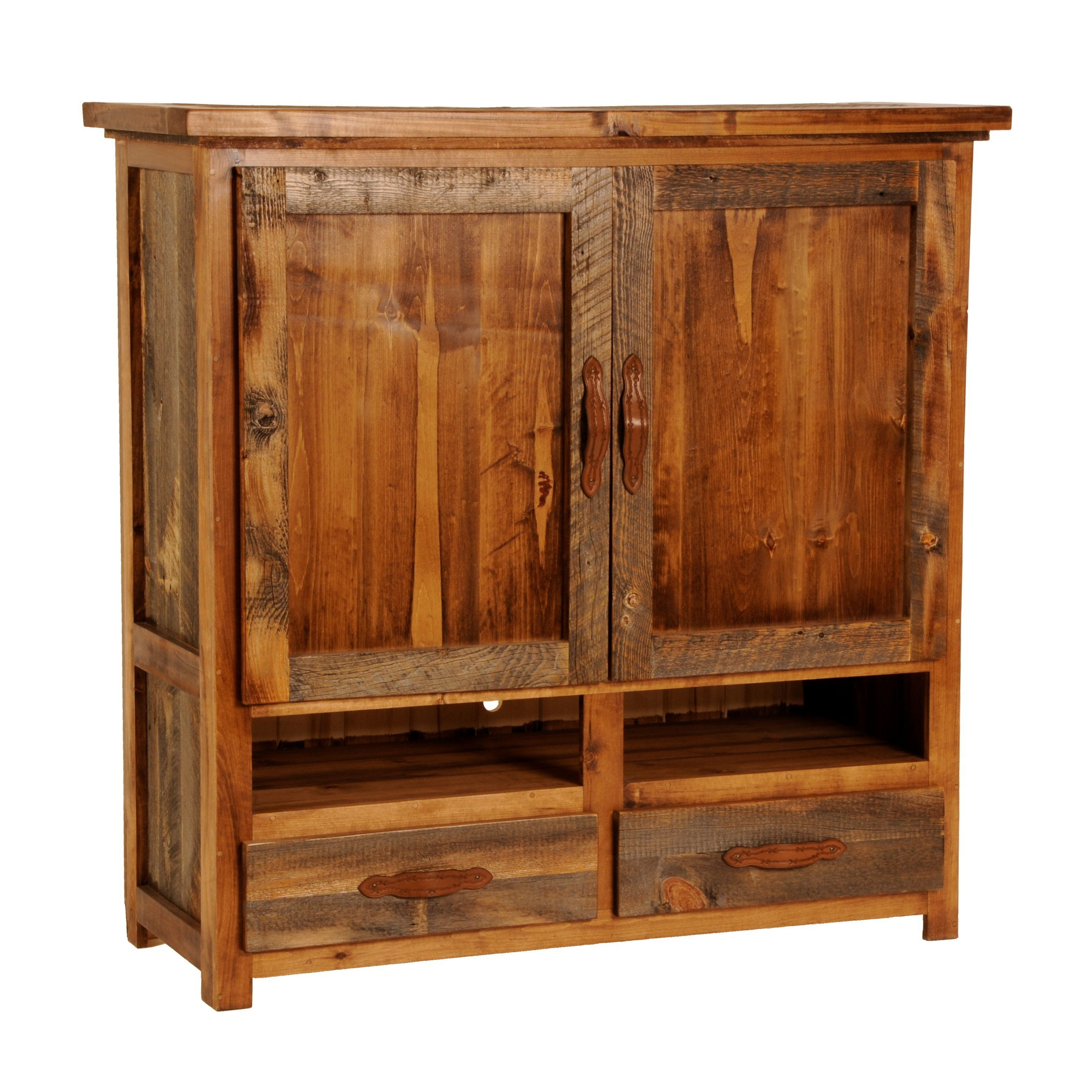 Beau Rustic Wyoming Flat Screen Tv Armoire