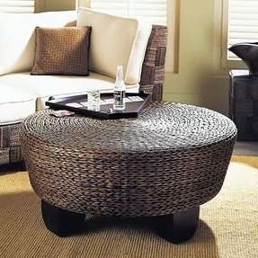 Small Round Coffee Table Ottoman Tables Decor
