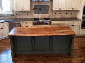 Kitchen Island With Butcher Block - Ideas on Foter