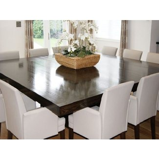 Square Dining Room Table Seats 8 For