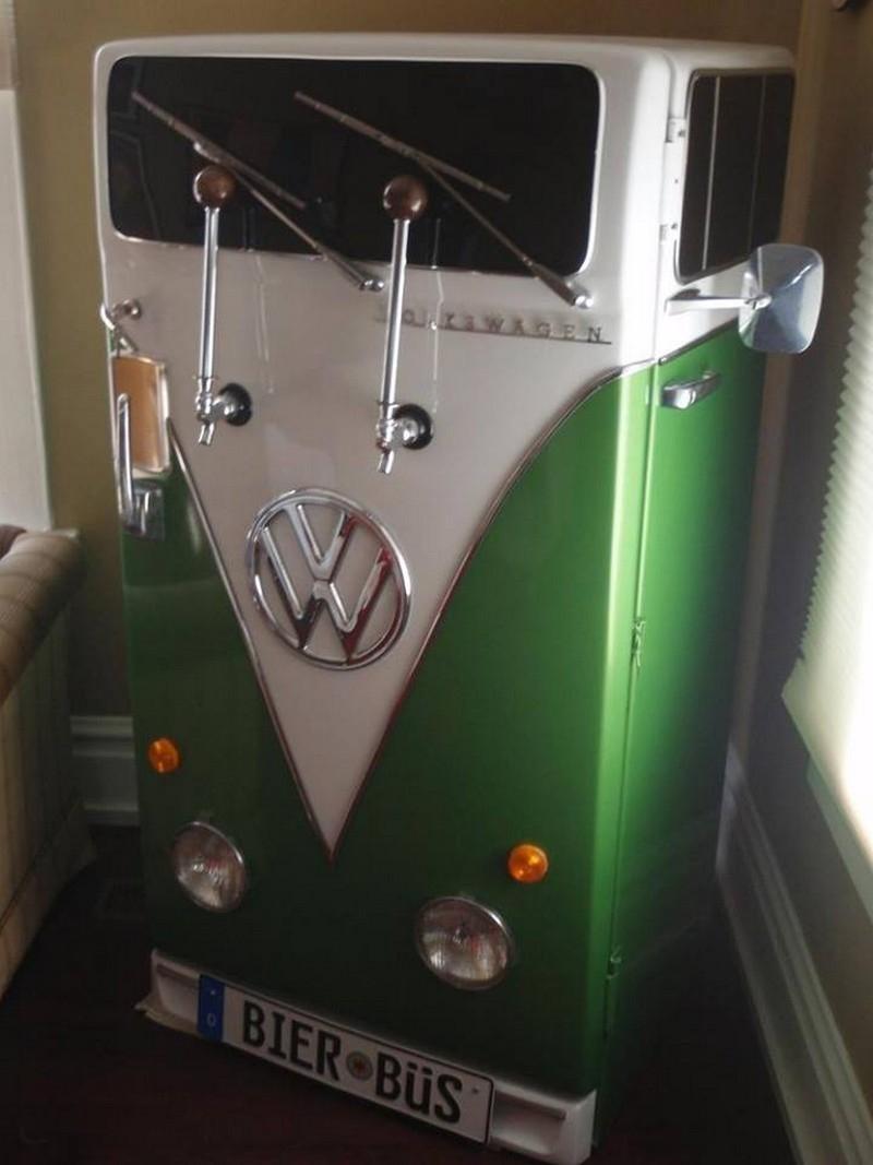 Volkswagen Think Small//Think Tall Fridge Magnet Set