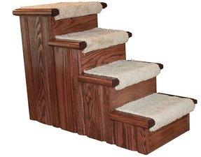 Wooden Dog Steps For Bed