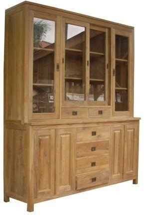 Ordinaire Buffet Cabinet With Glass Doors