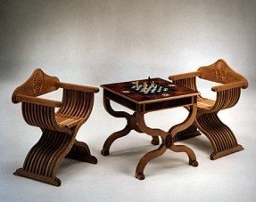Chess table and chairs italian renaissance chess table chairs in & Chess Tables And Chairs - Foter
