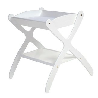Collapsible baby changing table