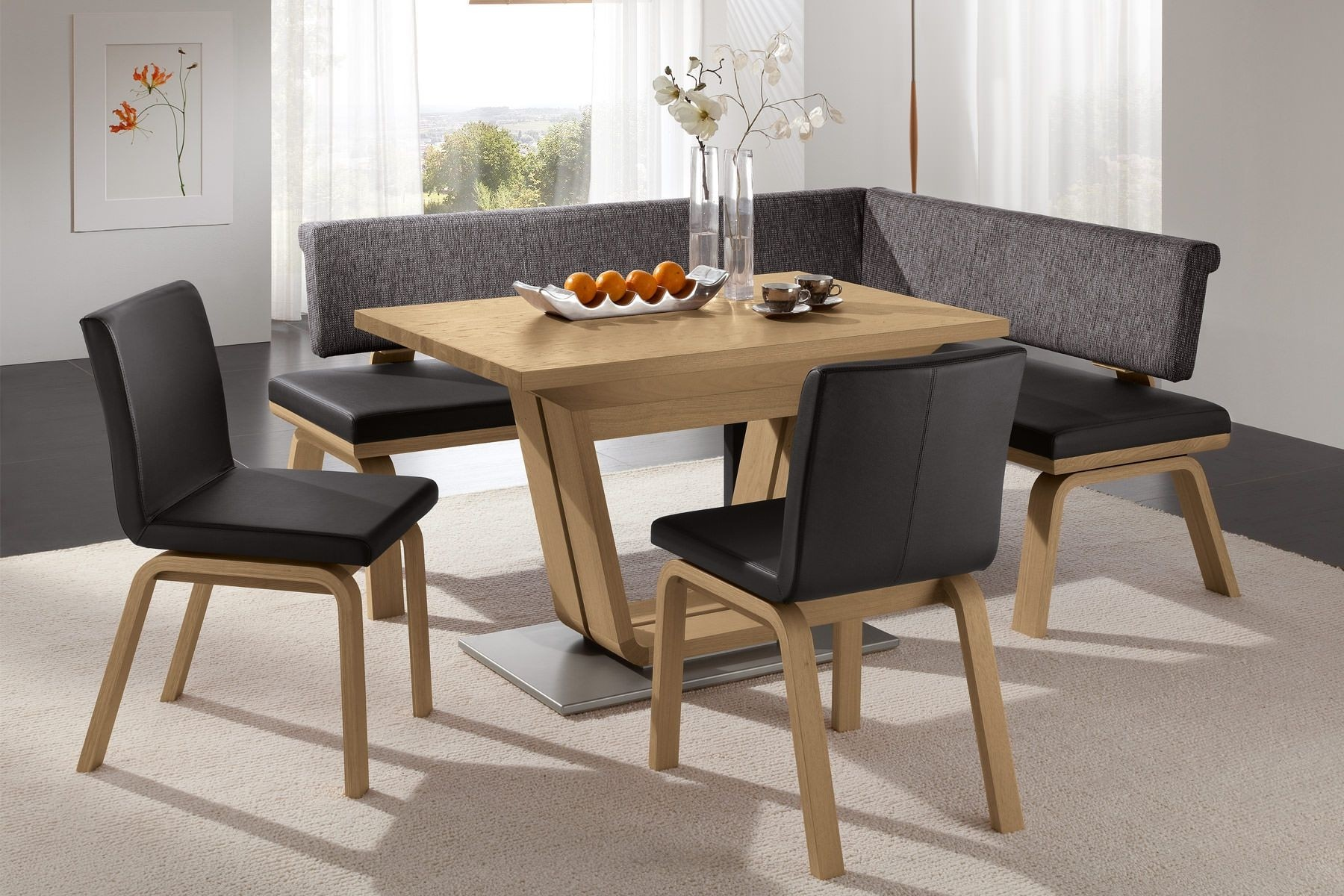 Corner Bench Dining Table Set Reviews Furniture Dining Room