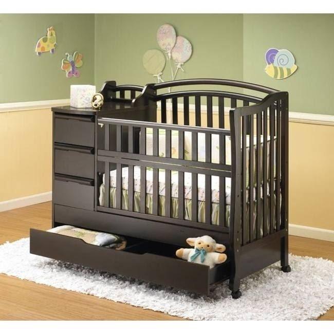 Beau Crib With Storage Drawer 1