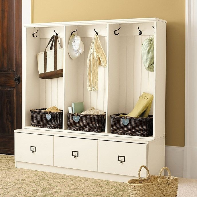 Charmant Entryway Hall Tree With Storage Bench