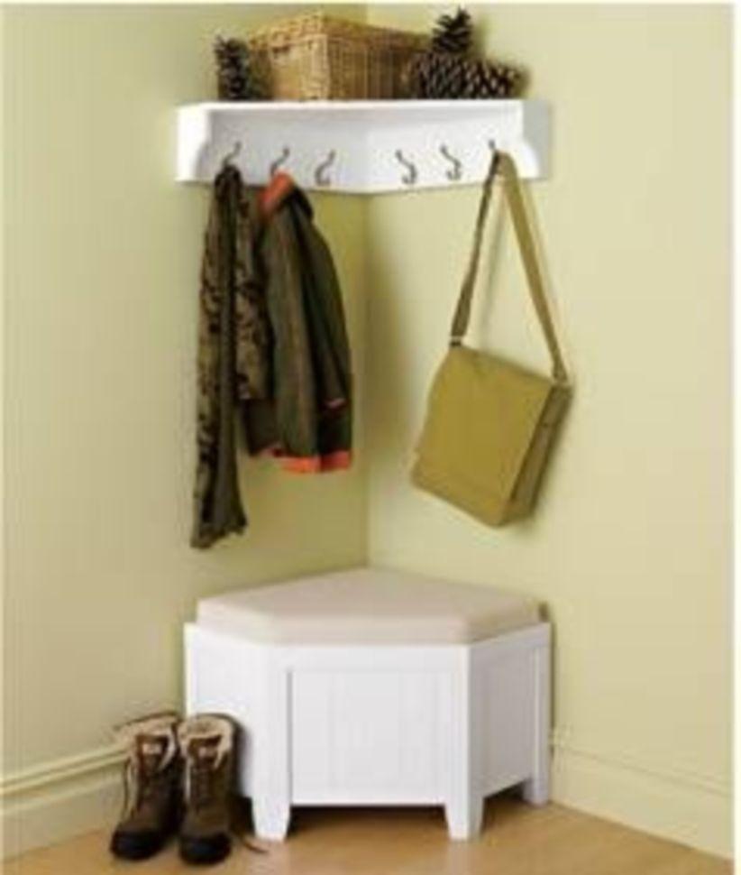 Marvelous Entryway Shoe Coat Storage Ideas 1