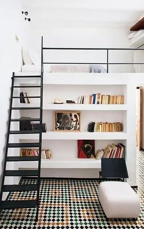 Half Loft Bed Ideas On Foter