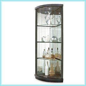 Modern Corner Curio Cabinet Ideas On Foter