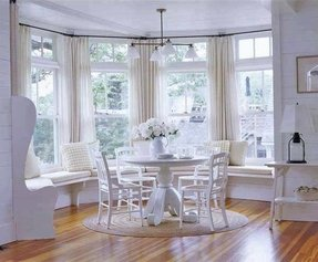 Round Breakfast Nook Table Set