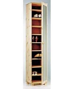 Tall Narrow Shoe Cabinet