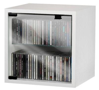 Vcm Quattro Wall Mounted Cd Dvd Storage