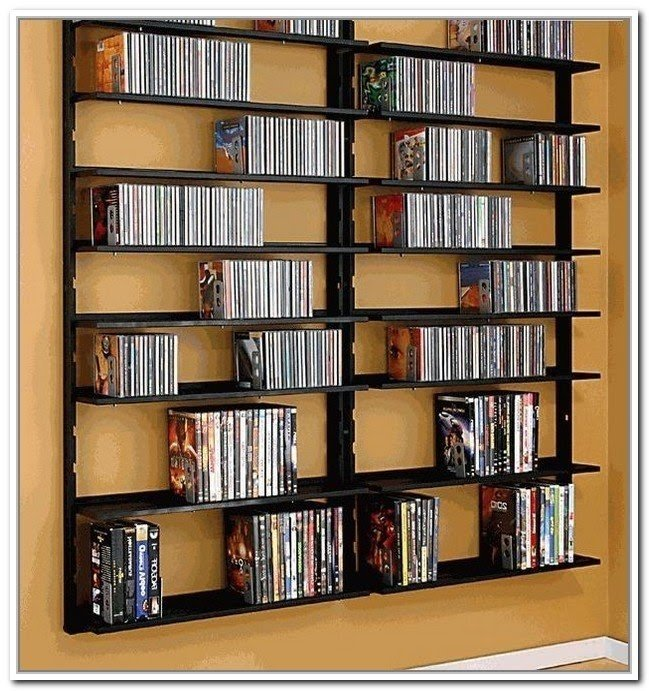 Genial Wall Hanging Dvd Rack. Such A Great Solution For CD ...