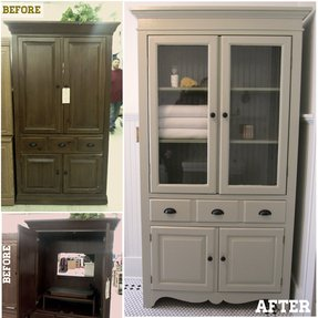 Linen Cabinet With Drawers Foter