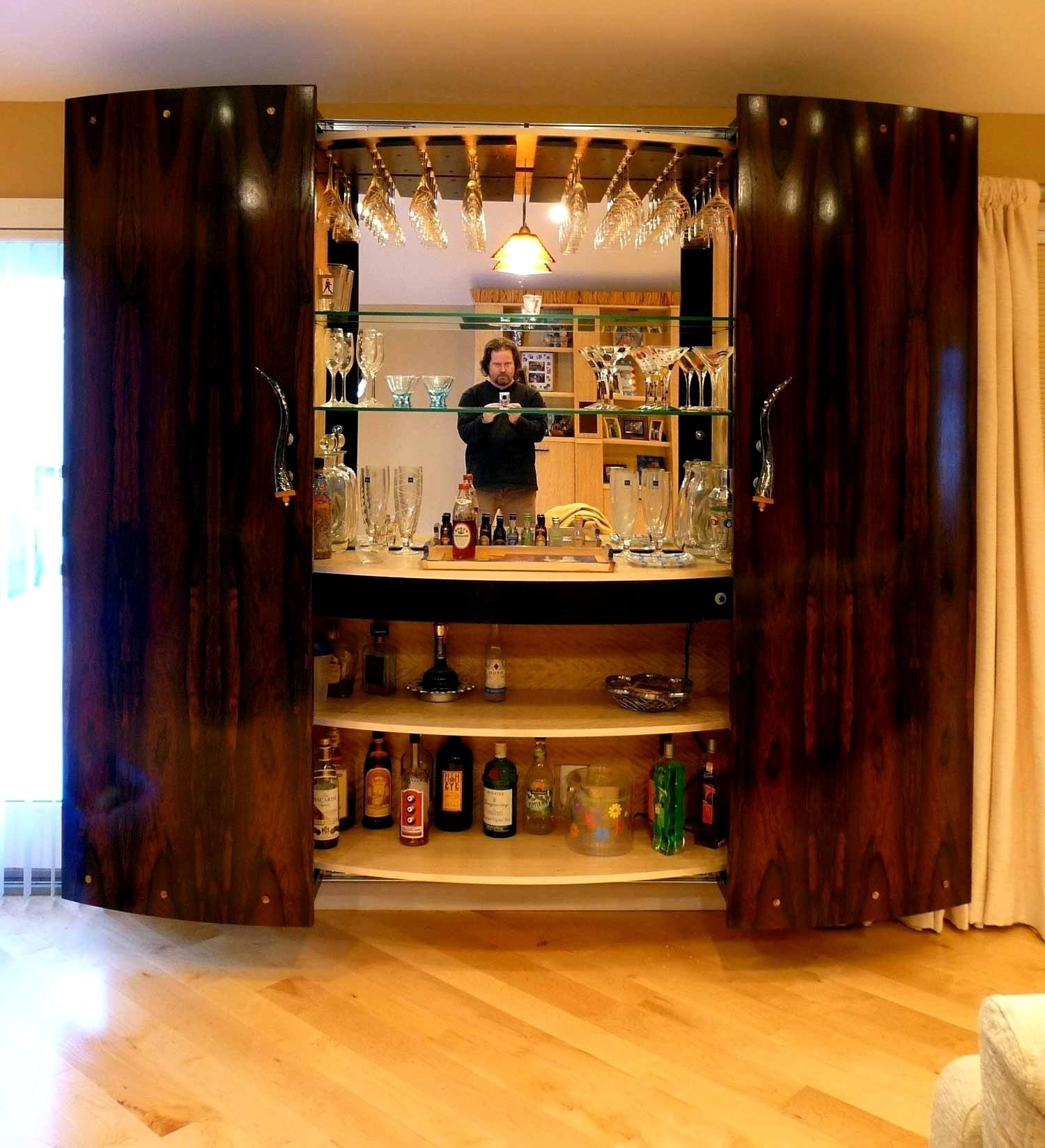 Awesome Build Your Own Wet Bar Cabinet Home Garden Ideas