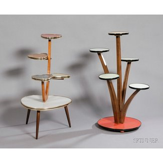 Contemporary Plant Stands 4