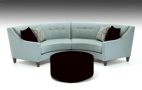 Curved Sectional Sofa / Couch - Foter