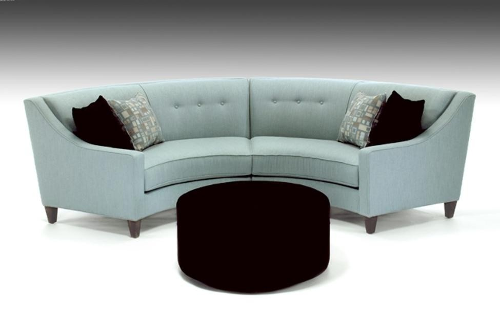 Superbe Curved Sectional Sofa For Small Room
