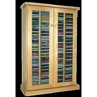 Phenomenal Dvd Storage Cabinets Wood Ideas On Foter Home Interior And Landscaping Elinuenasavecom