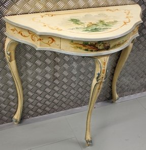 Hand painted console tables 4