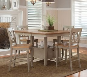 Light Wood Counter Height Dining Sets - Foter