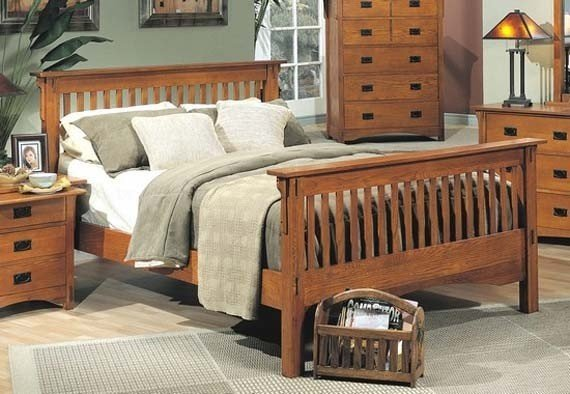 Mission Style Of Craftsman Bedroom Furniture Design