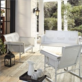 Outdoor Sofa Glider Foter