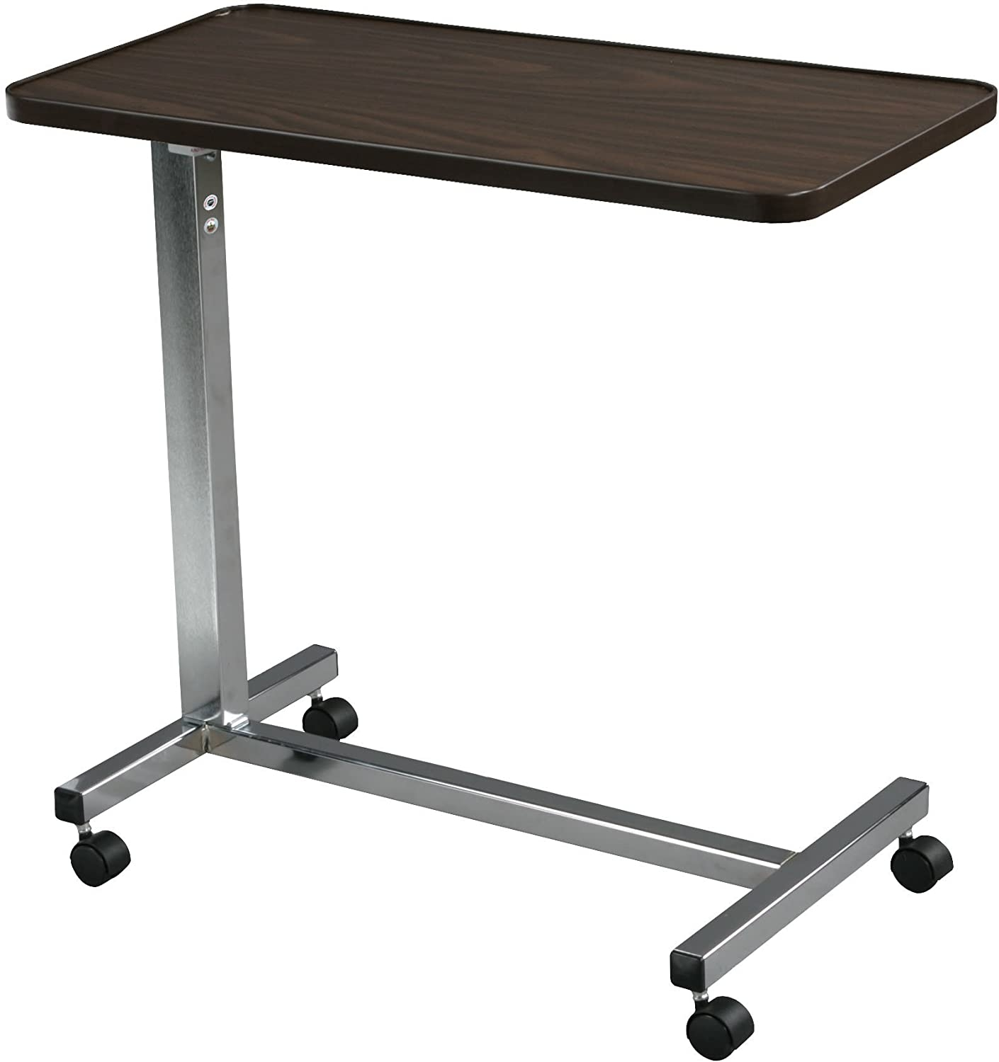 Genial Overbed Table Laptop Tray Tv Dinner With Wheels New