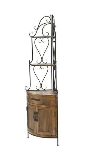 Safavieh furniture amh6527a tower corner bakers rack