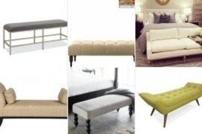 Upholstered Bench For End Of Bed Foter